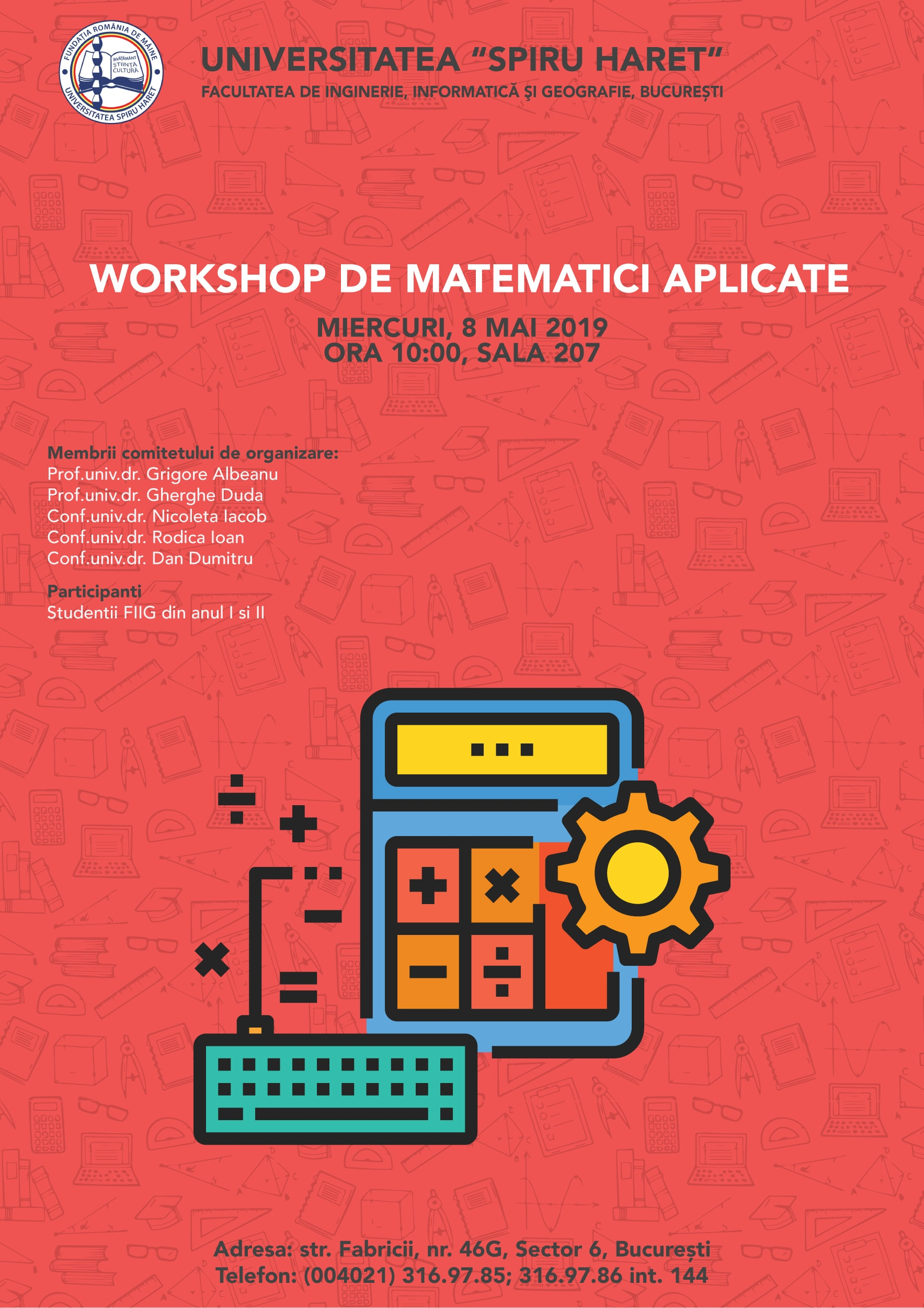Workshop Studentesc - Matematici Aplicate